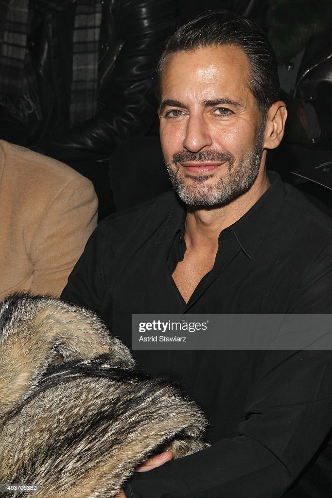 Marc Jacobs attends the Marc By Marc Jacobs fashion show during MercedesBenz Fashion Week Fall 2015 at Pier 94 on February 17 2015 in New York City