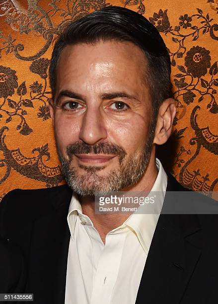 Marc Jacobs attends the Marc Jacobs Beauty dinner at the Club at Park Chinois on February 20 2016 in London England