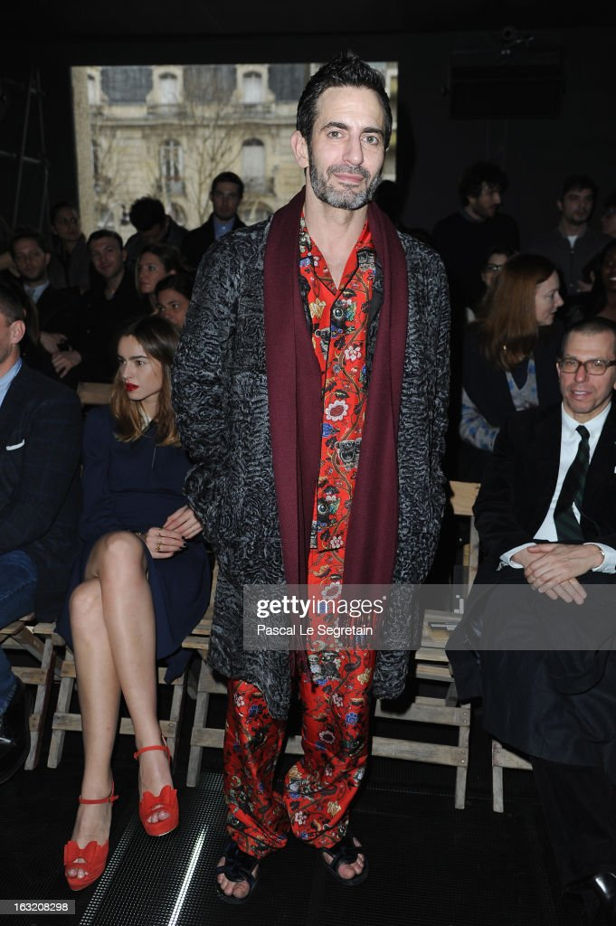 Marc Jacobs attends the Miu Miu Fall/Winter 2013 Ready-to-Wear show as part of Paris Fashion Week on March 6, 2013 in Paris, France.