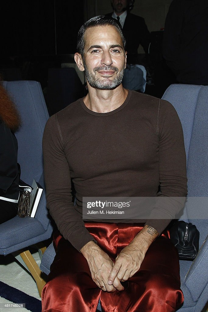 <a gi-track='captionPersonalityLinkClicked' href=/galleries/search?phrase=Marc+Jacobs+-+Fashion+Designer&family=editorial&specificpeople=4190324 ng-click='$event.stopPropagation()'>Marc Jacobs</a> attends the Miu Miu Resort Collection 2015 at Palais d'Iena on July 5, 2014 in Paris, France.