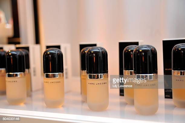 Marc Jacobs Beauty at the HBO Luxury Lounge at the Four Seasons Hotel Los Angeles at Beverly Hills on January 8 2016 in Los Angeles California