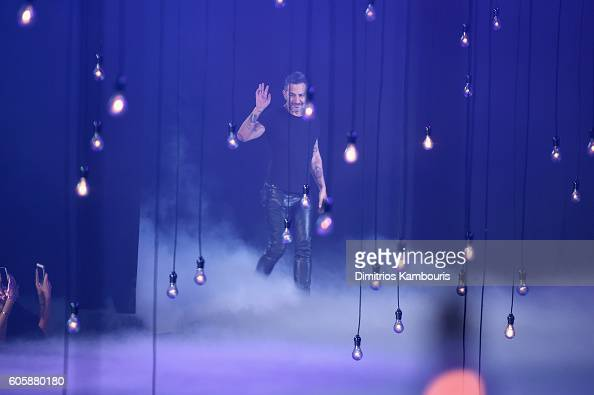 Marc Jacobs on the runway during the Marc Jacobs Spring 2017 fashion show during New York Fashion Week at the Hammerstein Ballroom on September 15...