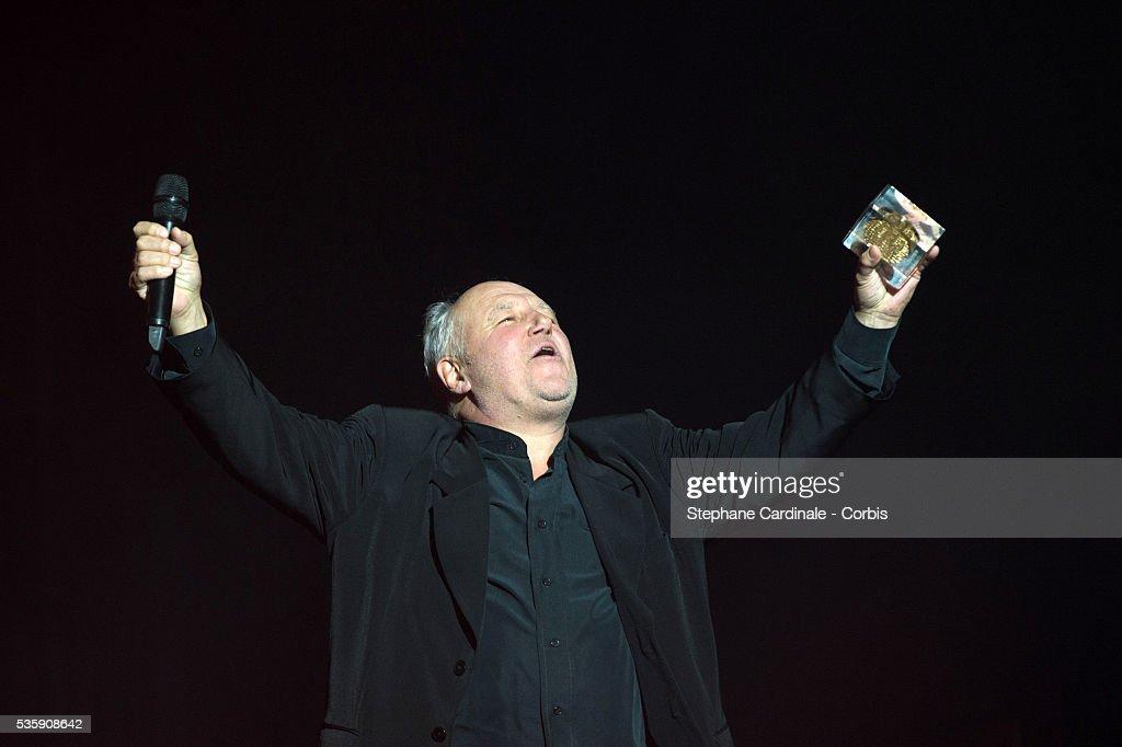Marc Jolivet attends the SACEM (Societe des auteurs, compositeurs et editeurs de musique) Grand Prix awards ceremony at the Olympia, in Paris.