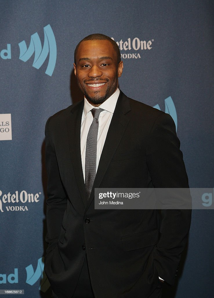 Marc Lamont Hill attends the 24th Annual GLAAD Media Awards at the Hilton San Francisco - Union Squareon May 11, 2013 in San Francisco, California.
