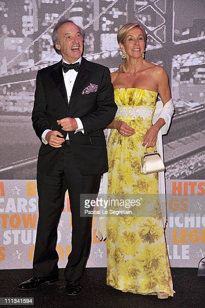 Marc Landeau and Monica Augusta attend the Monaco Rose Ball 2011 at Sporting Monte Carlo on March 19 2011 in Monte Carlo Monaco This year's Rose Ball...
