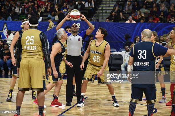 Marc Lasry and Mark Cuban face off during the 2017 NBA AllStar Celebrity Game at MercedesBenz Superdome on February 17 2017 in New Orleans Louisiana
