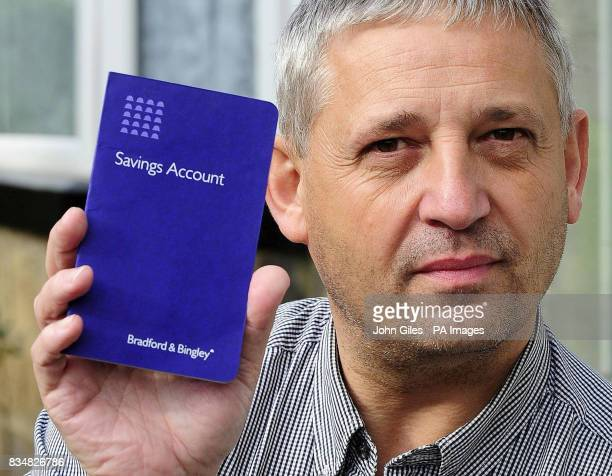 Marc Lawrence a Bradford Bingley customer who has now withdrawn his 'substantial' life savings from the ailing bank amid fears for the longterm...