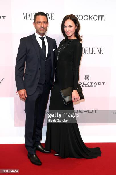 Marc Lenhof Rockciti and his girlfriend Patricia during the 'Tribute To Bambi' gala at Station on October 5 2017 in Berlin Germany
