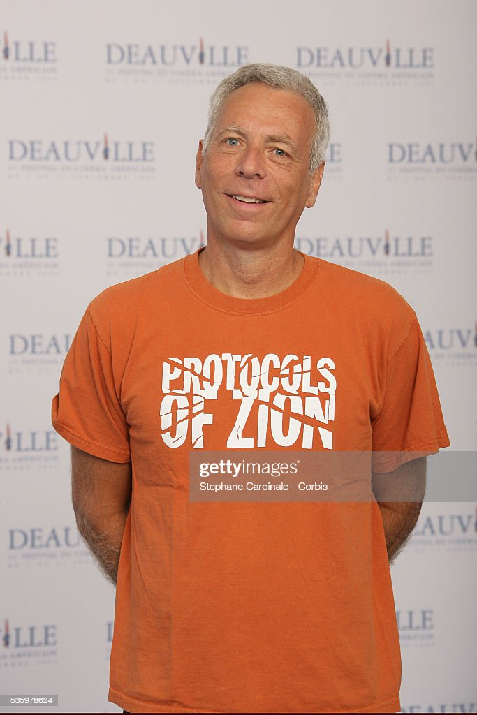 Marc Levin poses for 'Protocols of Zion' photocall during the 31st American Deauville Film Festival.