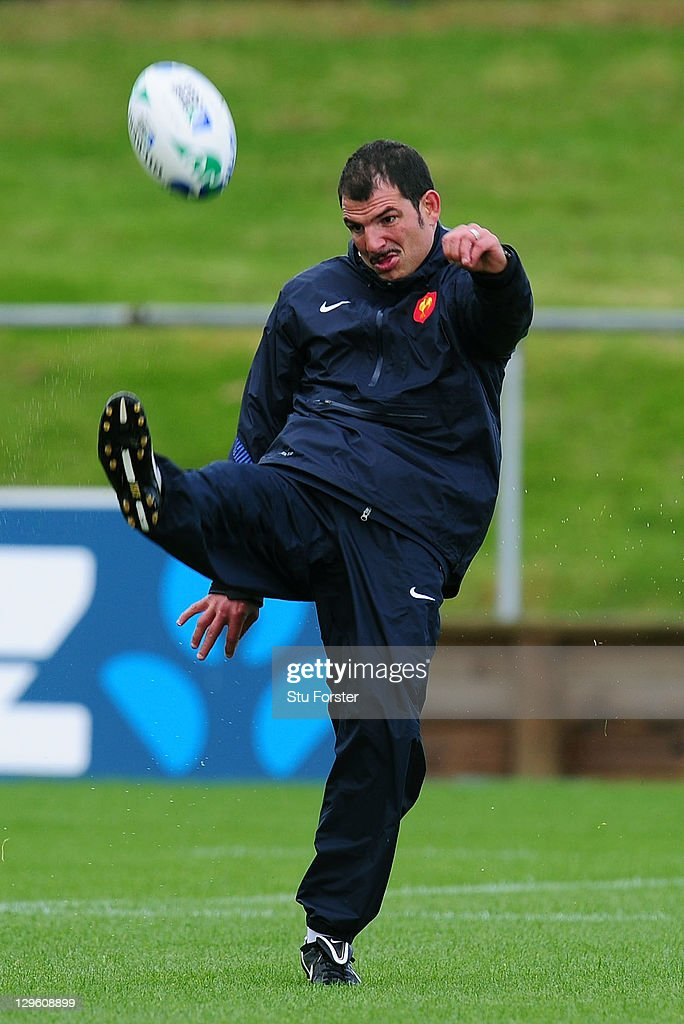 France IRB RWC 2011 Training Session