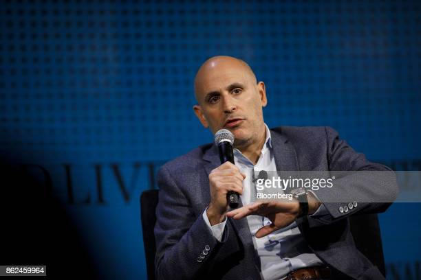 Marc Lore chief executive officer of Jetcom Inc speaks during the Wall Street Journal DLive global technology conference in Laguna Beach California...