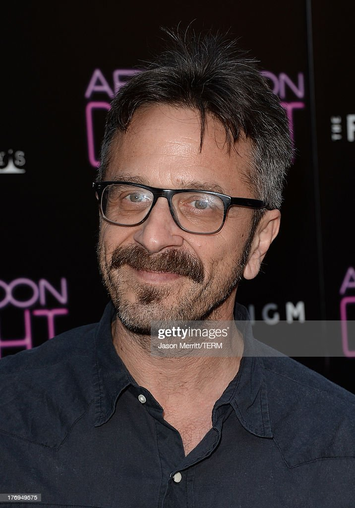 <a gi-track='captionPersonalityLinkClicked' href=/galleries/search?phrase=Marc+Maron&family=editorial&specificpeople=236022 ng-click='$event.stopPropagation()'>Marc Maron</a> attends the premiere of the Film Arcade and Cinedigm's 'Afternoon Delight' at ArcLight Hollywood on August 19, 2013 in Hollywood, California.