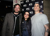 Marc Maron Janeane Garofalo and Henry Rollins during 'It's Not a Play and There's No Music' Featuring Janeane Garofalo Henry Rollins and Marc Maron...