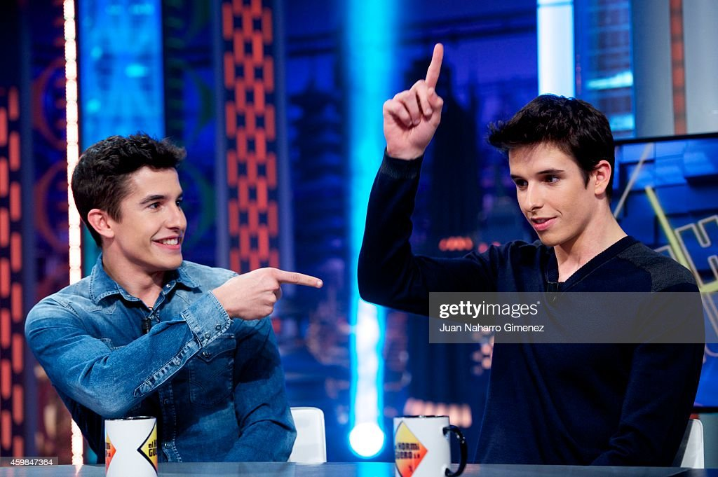 Marc and Alex Marquez Attend 'El Hormiguero' Tv Show