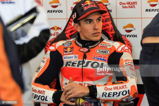 Marc Marquez during Motogp test day at Valencia circuit