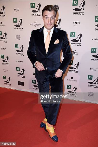 Marc Marshall attends the Deichmann Shoe Step of the Year 2014 at Atlantic Hotel on November 17 2014 in Hamburg Germany