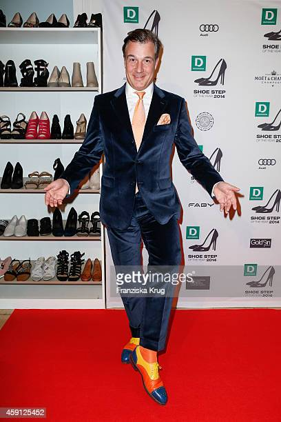 Marc Marshall attends the Deichmann Shoe Step of the Year 2014 on November 17 2014 in Hamburg Germany