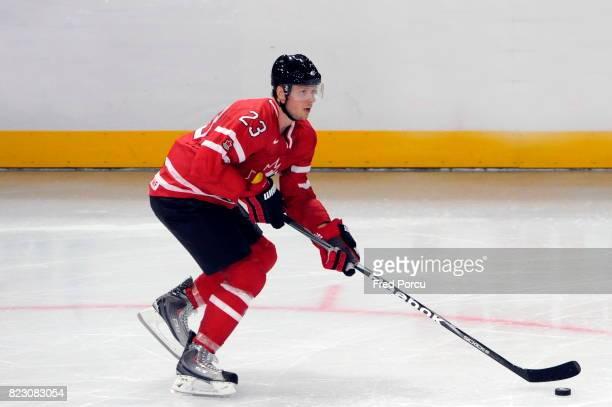 Marc METHOT Hockey sur Glace France / Canada Match amical Palais Omnisport Paris Bercy