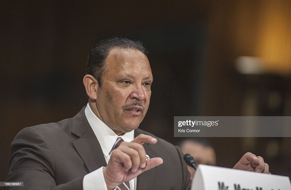 Marc Morial speaks during the Senate Small Business and Entrepreneurship Committee at Dirksen Senate Office Building on May 8, 2013 in Washington, DC.