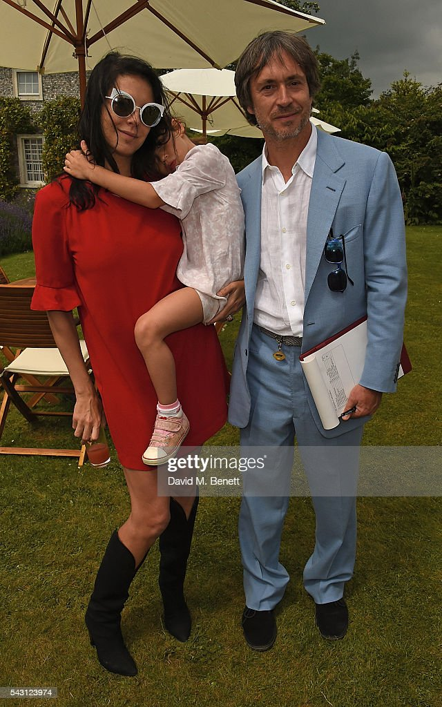 <a gi-track='captionPersonalityLinkClicked' href=/galleries/search?phrase=Marc+Newson&family=editorial&specificpeople=674016 ng-click='$event.stopPropagation()'>Marc Newson</a> and <a gi-track='captionPersonalityLinkClicked' href=/galleries/search?phrase=Charlotte+Stockdale&family=editorial&specificpeople=4394916 ng-click='$event.stopPropagation()'>Charlotte Stockdale</a> attend The Cartier Style et Luxe at the Goodwood Festival of Speed at Goodwood on June 26, 2016 in Chichester, England.