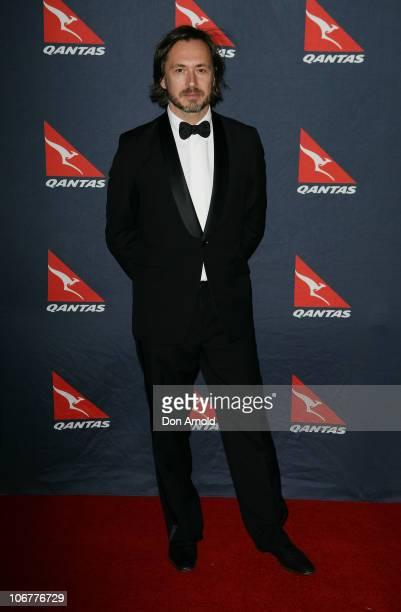 Marc Newson arrives at Qantas's 90th anniversary gala dinner at the Qantas Sydney jet base on November 12 2010 in Sydney Australia