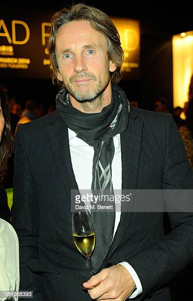 Marc Newson attends the Moet Hennessy London Prize Jury Visit during the PAD London Art Design Fair at Berkeley Square Gardens on October 14 2013 in...