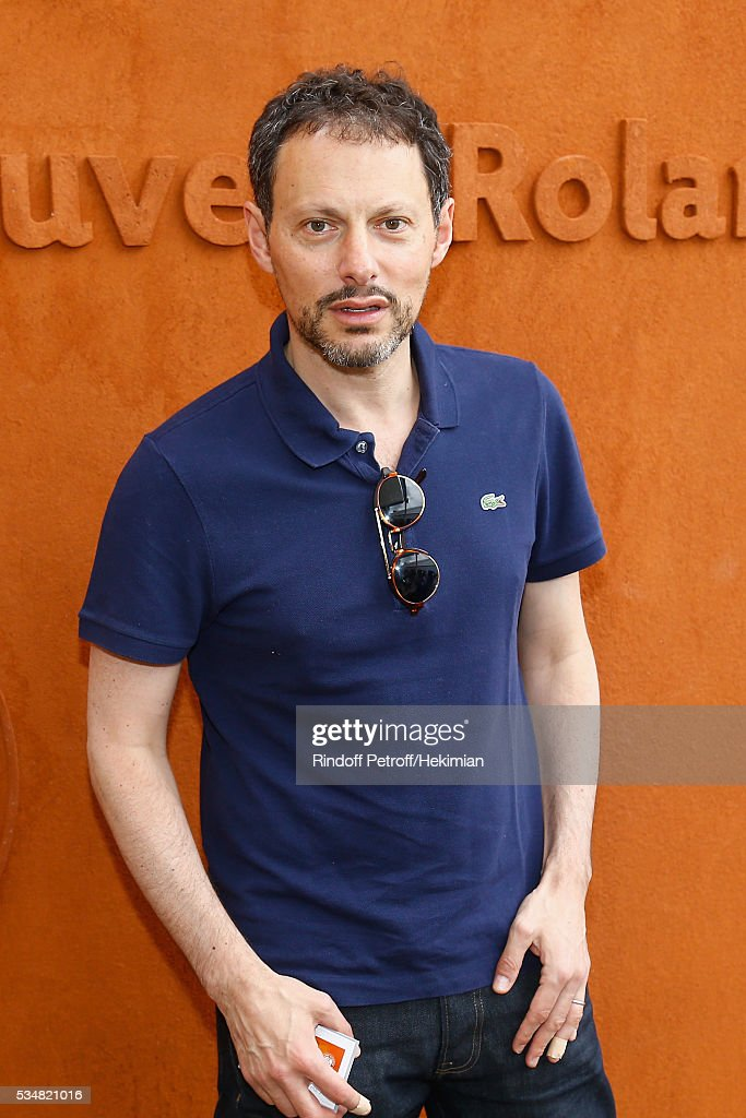 Marc Olivier Fogiel attends The French Tennis Open Day Seven at Roland Garros on May 28, 2016 in Paris, France.
