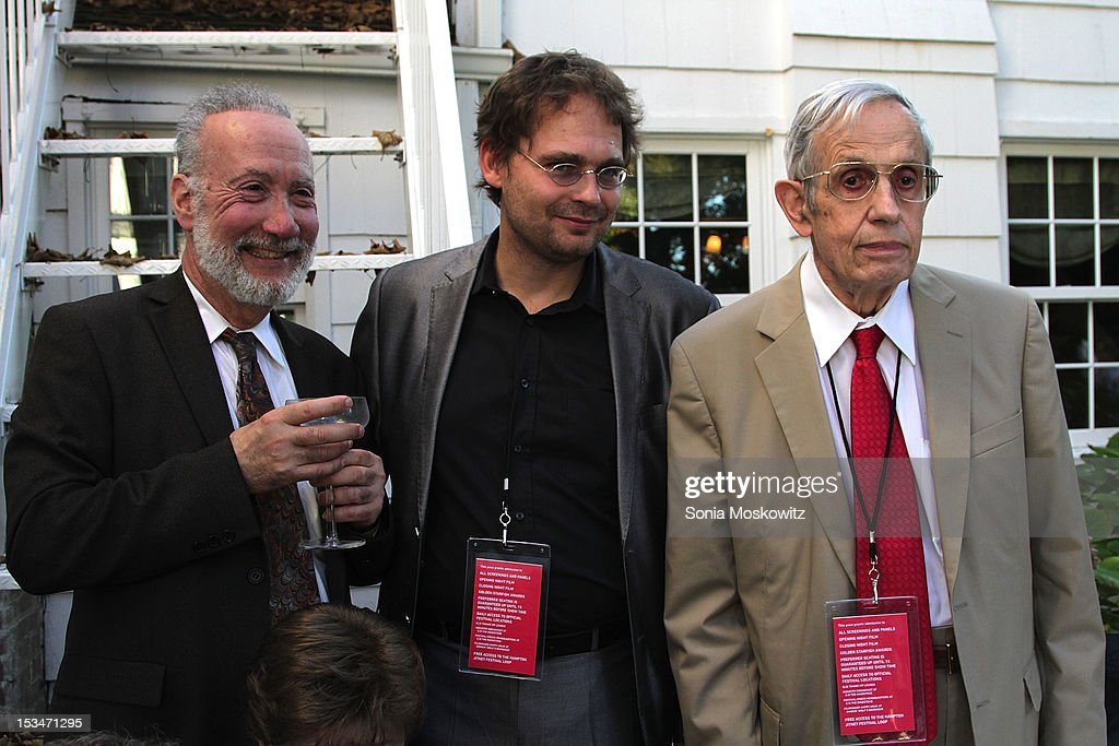 Marc Pachter, Peter Badge, and John Nash attend the Nobel Laureate Exhibition Reception during the 20th Hamptons International Film Festival at The Maidstone Hotel on October 5, 2012 in East Hampton, New York.
