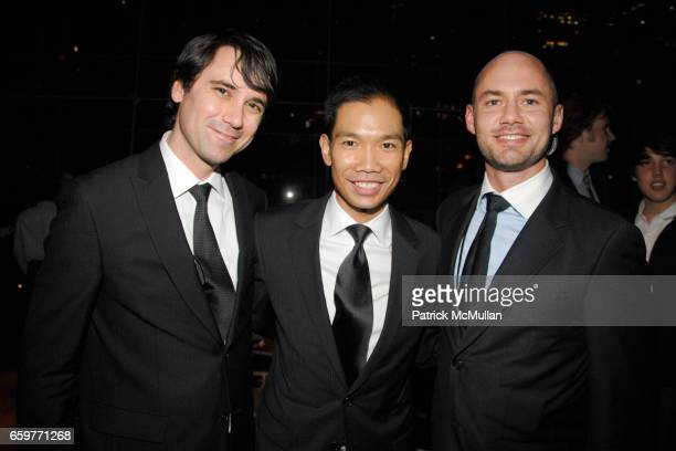 Marc Parees Andrew Uriarte and Josh Murray attend This Is Tisch Gala 2009 at Frederick P Rose Hall on November 2 2009 in New York City
