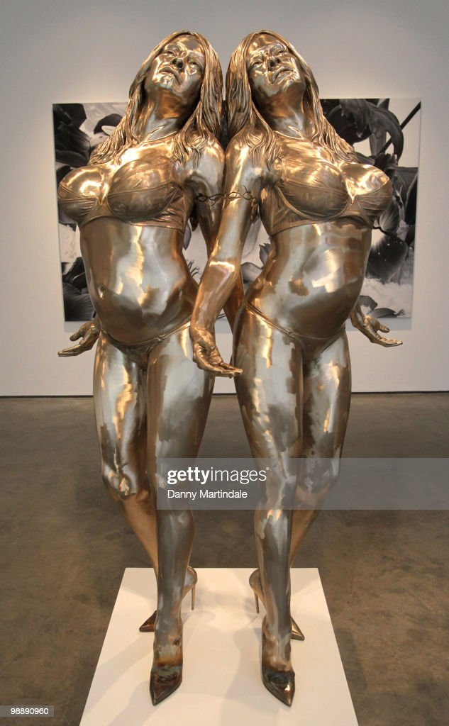 <a gi-track='captionPersonalityLinkClicked' href=/galleries/search?phrase=Marc+Quinn&family=editorial&specificpeople=664862 ng-click='$event.stopPropagation()'>Marc Quinn</a>'s sculpture 'The Ecstatic Autogenesis of Pamala' which is a sculpture of the actress <a gi-track='captionPersonalityLinkClicked' href=/galleries/search?phrase=Pamela+Anderson&family=editorial&specificpeople=171759 ng-click='$event.stopPropagation()'>Pamela Anderson</a> at a photocall for <a gi-track='captionPersonalityLinkClicked' href=/galleries/search?phrase=Marc+Quinn&family=editorial&specificpeople=664862 ng-click='$event.stopPropagation()'>Marc Quinn</a>'s new exhibition 'Allanah, Buck, Catman, Chelsea, Michael, Pamela And Thomas' at White Cube Gallery on May 6, 2010 in London, England.