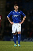 Marc Richards of Chesterfield in action during the Sky Bet League Two match between Chesterfield and Northampton Town at Proact Stadium on November...