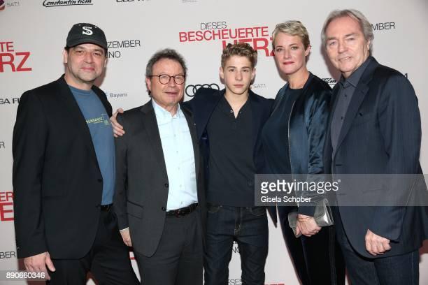 Marc Rothemund Dr Klaus Schaefer Philip Noah Schwarz Viola Jaeger and Harald Kuegler during the 'Dieses bescheuerte Herz' premiere at Mathaeser...