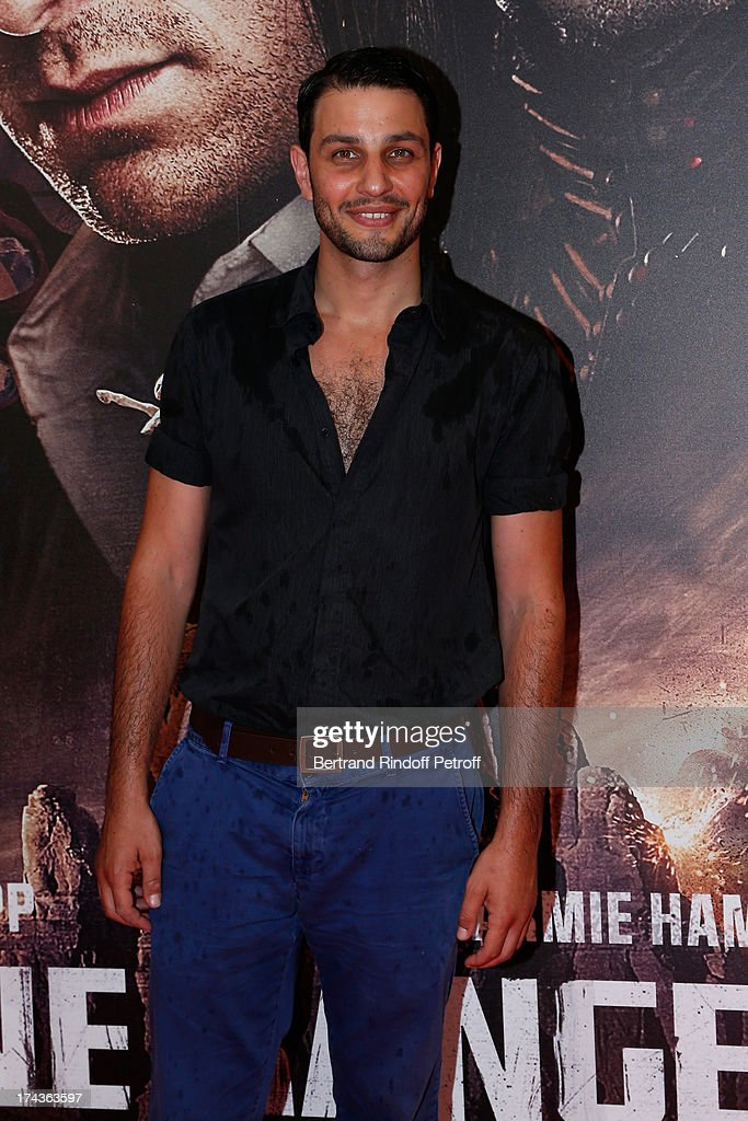 Marc Ruchmann attends the Paris Premiere of 'Lone Ranger' on July 24, 2013 at UGC Normandy in Paris, France.