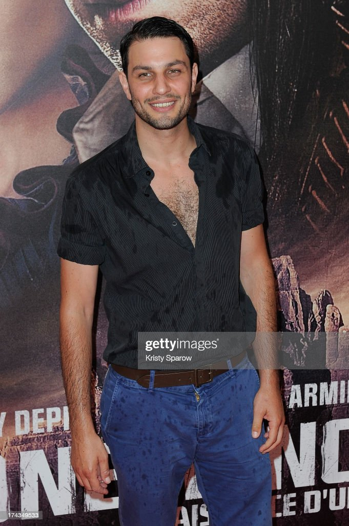 Marc Ruchmann attends the Paris premiere of 'The Lone Ranger' at Cinema UGC Normandie on July 24, 2013 in Paris, France.