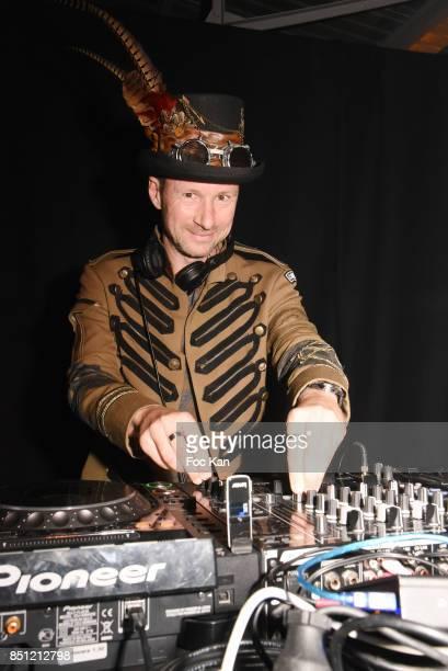 Marc Ryan performs during 'Anachronisme' Nikon 100th Anniversary Party At Le Dernier Etage on September 21 2017 in Paris France