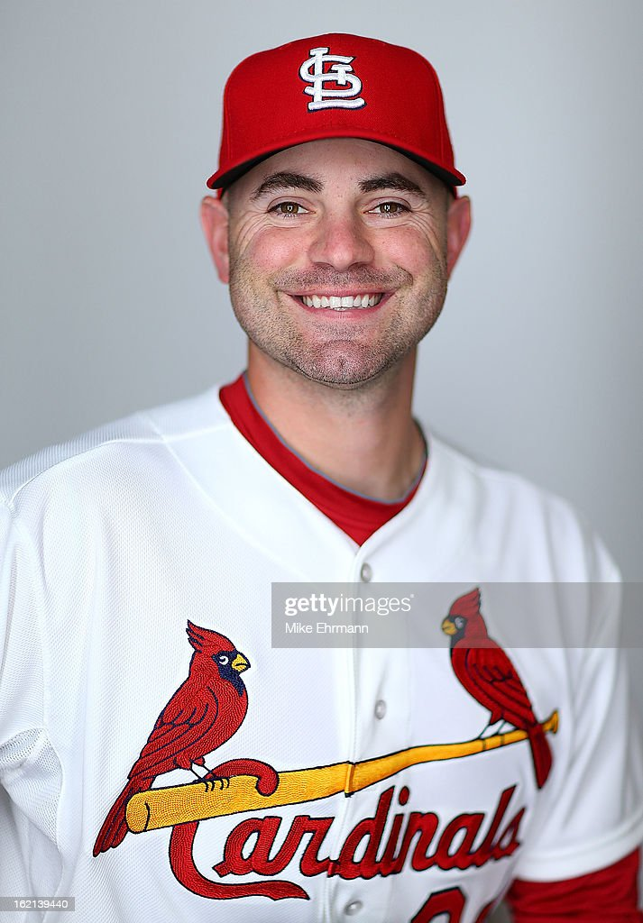 Marc Rzepczynski #34 of the St. Louis Cardinals poses during photo day at Roger Dean Stadium on February 19, 2013 in Jupiter, Florida.