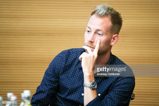 Marc Schnatterer at DFB Headquarter on July 19 2017 in Frankfurt am Main Germany