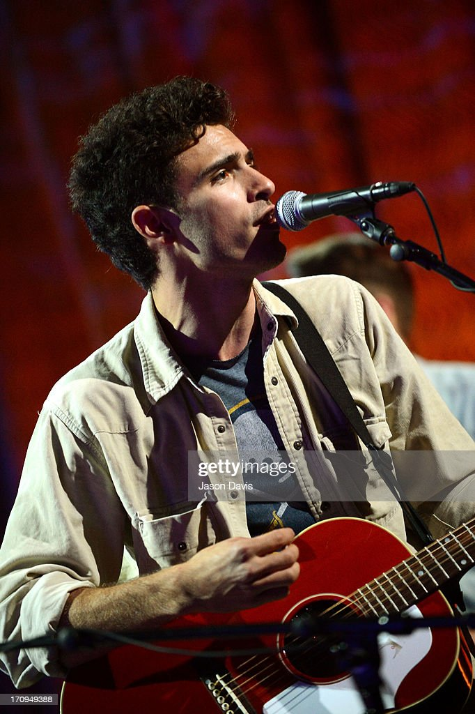 Marc Scibilia performs during the MTV, VH1, CMT & LOGO 2013 O Music Awards on June 20, 2013 in Nashville, Tennessee.