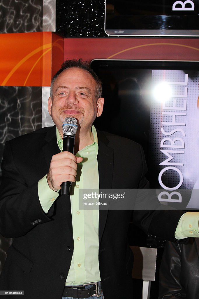 <a gi-track='captionPersonalityLinkClicked' href=/galleries/search?phrase=Marc+Shaiman&family=editorial&specificpeople=693590 ng-click='$event.stopPropagation()'>Marc Shaiman</a> attends The 'Bombshell: The New Marilyn Musical from Smash Cast Recording' CD signing at NBC Experience Store on February 13, 2013 in New York City.