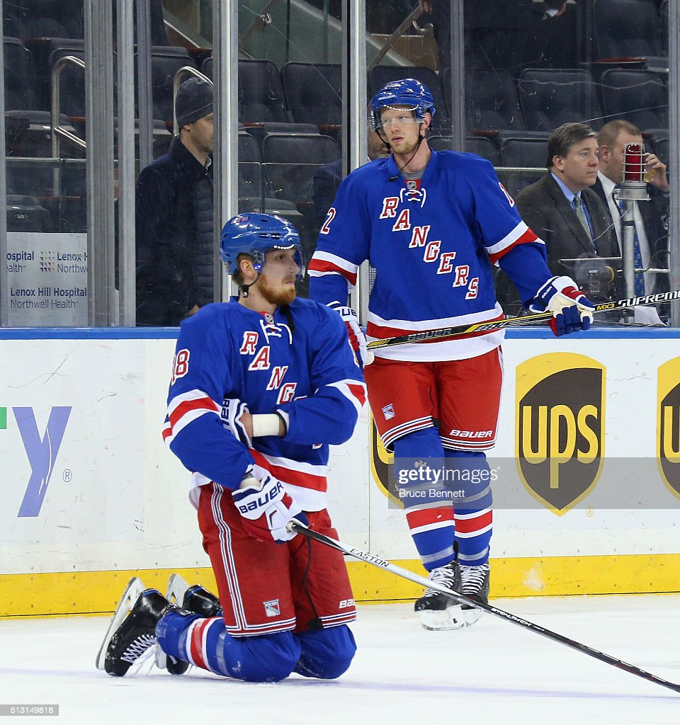 Columbus Blue Jackets V New York Rangers Getty Images