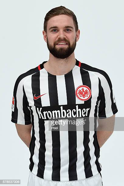 Marc Stendera poses during the Eintracht Frankfurt Team Presentation on July 21 2016 in Frankfurt am Main Germany