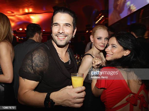 Marc Terenzi attends the Lambertz Monday Night 2011 Schoko Fashion party at the Alten Wartesaal on January 31 2011 in Cologne Germany