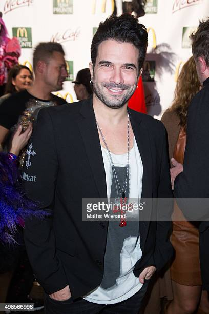 Marc Terenzi attends the MC Pruente Christmas Party at the Delta Music Club on November 23 2015 in Essen Germany