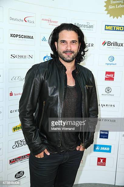 Marc Terenzi pose during the pre golf party of the 7th Golf Charity Cup hosted by the Christoph Metzelder Foundation on May 17 2015 in Cologne Germany