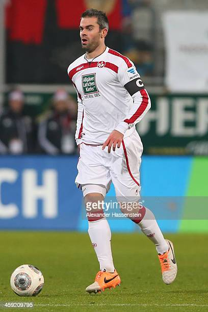 Marc Torrejon of Kaiserslautern runs with the ball during the Second Bundesliga match between FC Ingolstadt and 1FC Kaiserslautern at Audi Sportpark...
