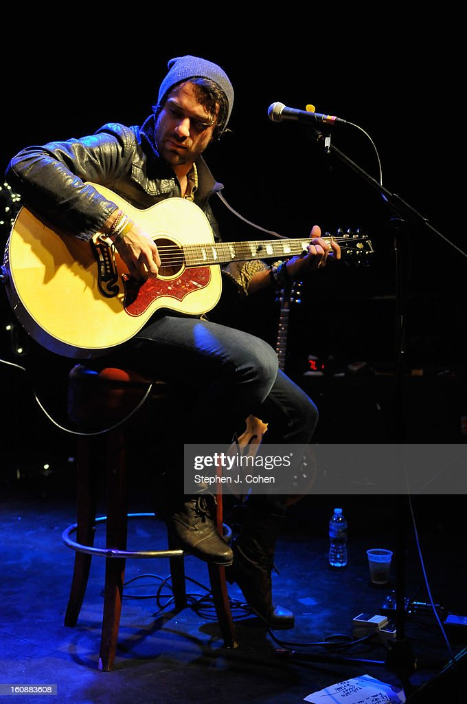 Marc Walloch of Company Of Thieves performs at Headliners Music Hall on February 6, 2013 in Louisville, Kentucky.