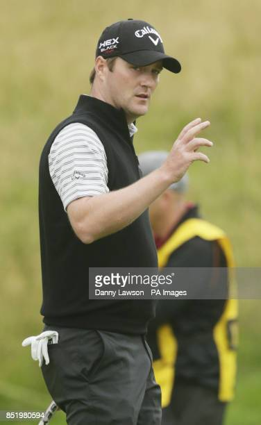 Marc Warren during day one of the 2013 Johnnie Walker Championships at Gleneagles Perthshire