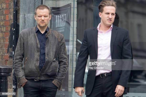 Marc Warren seen in Hampstead on October 6 2017 in London England