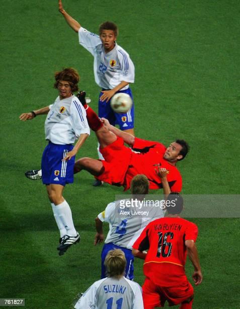 Image result for marc wilmots goal vs japan