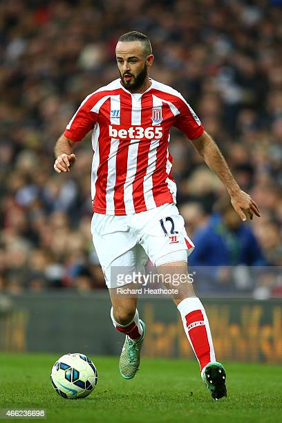 Marc Wilson of Stoke in action during the Barclays Premier League match between West Bromwich Albion and Stoke City at The Hawthorns on March 14 2015...
